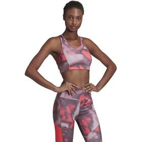 adidas D2M AOP BT Sport BH Dames, signal pink/white